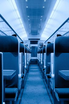 Free Railway Coach Interior, Monochromatic Stock Photos - 15541313