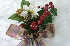 Free Christmas Bouquet Royalty Free Stock Photo - 15541335