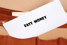 Free  Easy Money  Themed Image Royalty Free Stock Photos - 15541478