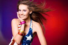 Free American Woman Royalty Free Stock Photos - 15541788
