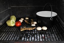 Free Barbecue Stock Photography - 15541862