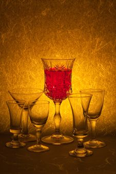 Free Red Wine Royalty Free Stock Image - 15541866