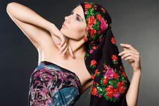Free Woman With Black Headwear Royalty Free Stock Photo - 15541915