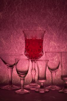 Free Red Wine Stock Photography - 15542082