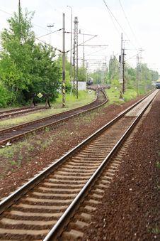 Free Trainline 1 Royalty Free Stock Photo - 15542295