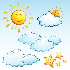 Summer Weather Royalty Free Stock Image