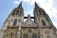 Free Dom-the Regensburg Cathedral,Germany(UNESCO Site) Stock Photography - 15544012