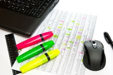 Free Office Table Royalty Free Stock Photos - 15544048