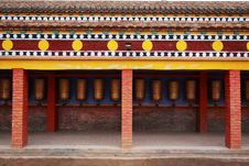 Free Tibetan Prayer Wheels Stock Photography - 15544132