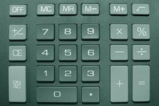Free Calculator Buttons Stock Photo - 15545010