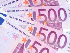 Free Five Hundred Euro Royalty Free Stock Image - 15545096