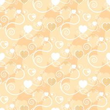 Free Excellent Background With Hearts Royalty Free Stock Photos - 15545568