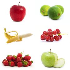 Free Set Of Fruits Royalty Free Stock Photo - 15545575