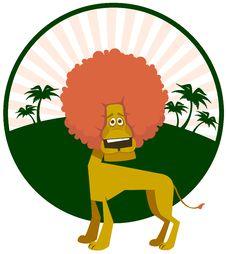 Free Amusing Lion Stock Photos - 15545673