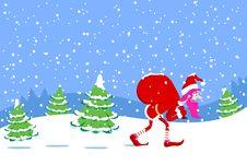 Free Winter Illustration Stock Photos - 15545753