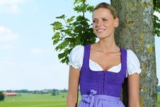 Free Bavarian Girl Royalty Free Stock Photo - 15548385