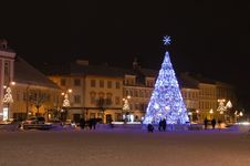 Night Square Royalty Free Stock Images