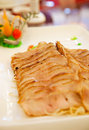 Free Asian Food: Grill Pork Served With Spicy Sauce Stock Photos - 15550623