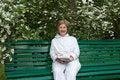 Free Elderly Woman Royalty Free Stock Photos - 15554238