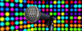 Free Microphones On Stage Stock Photo - 15557730