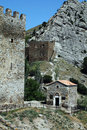 Free Ruins Of The Genoa Fortress Royalty Free Stock Image - 15559426