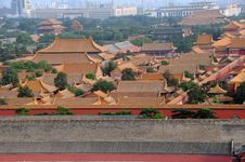 Free Forbidden City In Beijing, China Stock Photos - 15550533
