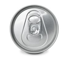 Free Closed Frontal Soft Drink Can Royalty Free Stock Photo - 15550725