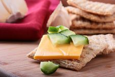 Free Wheat Crackers Stock Photos - 15550963