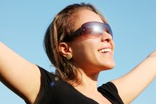 Free Happy Woman Stock Photography - 15551382