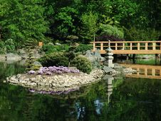 Free Japanese Garden Royalty Free Stock Photo - 15551615