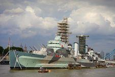 Free Imperial War Battleship Stock Image - 15551671