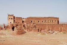 Telouet Palace Ruins Stock Photo