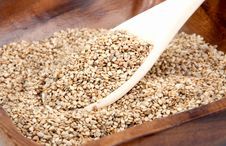 Free Sesame In A Bowl Stock Images - 15553594