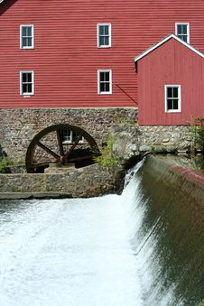 Free Grist Mill Royalty Free Stock Photography - 15553777