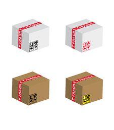 Free Fragile Shipping Box Stock Photo - 15554240