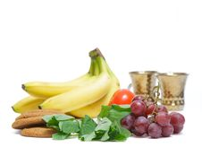 Free Fruits And Mint Royalty Free Stock Photography - 15554337