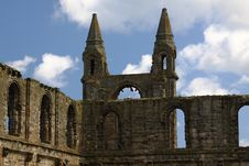 Free Ruins Of St. Andrews Royalty Free Stock Images - 15554519