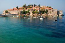 Free Sveti Stefan, Montenegro Stock Photos - 15555423