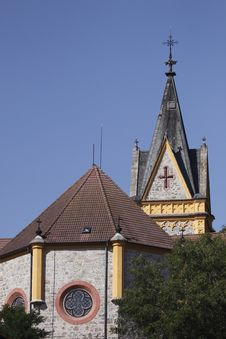 Free Church Of St. John Of Nepomuk Royalty Free Stock Photos - 15555538
