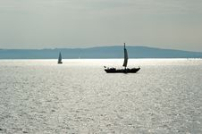 Free Sailboats Royalty Free Stock Photography - 15555747