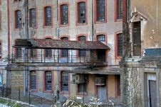 Old Factory In Manresa Spain Stock Images