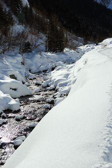 Free Alpine Torrent Royalty Free Stock Photo - 15557085