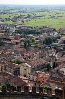Free The Town Of Soave, Famous For Wine And Grapes Stock Photo - 15557130