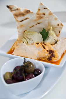 Free Spicy Hummus Dip Stock Image - 15557561