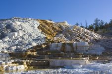 Free Mammoth Hot Springs Stock Image - 15557581