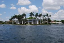 Fort Lauderdale Historic White House Stock Image