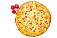 Free Pizza With Tomato Royalty Free Stock Photo - 15558665