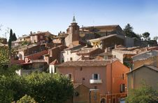 The Village Of Roussillon Stock Image