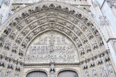 Free Frontal Fasade Of Cathedral Of Our Lady Royalty Free Stock Photos - 15559298