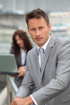Free Businessman Portrait Stock Photo - 15559810